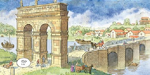 Arc de germanicus - Harry potter 8 et les portes du temps ...